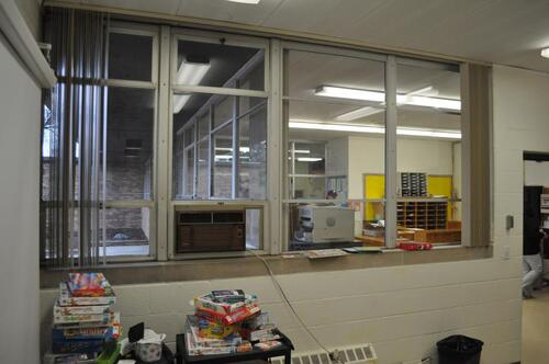 Hillcrest Main Office Windows