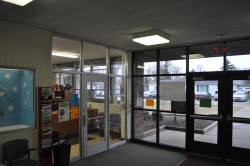 Hillcrest Main office entryway