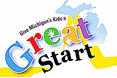 Image text reads: Give Michigan kids a Great Start.