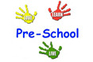 Image of colored hand prints. Image text reads: Pre-School