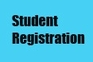 Text in image reads: Student Registration.